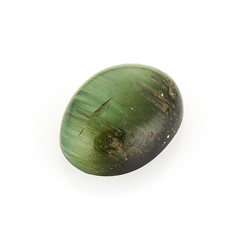 Кабошон турмалин зеленый (верделит) 6*8 мм