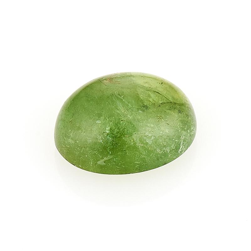 Кабошон турмалин зеленый (верделит) 6*8 мм термос laplaya traditional 35 темно зеленый 1 8 л