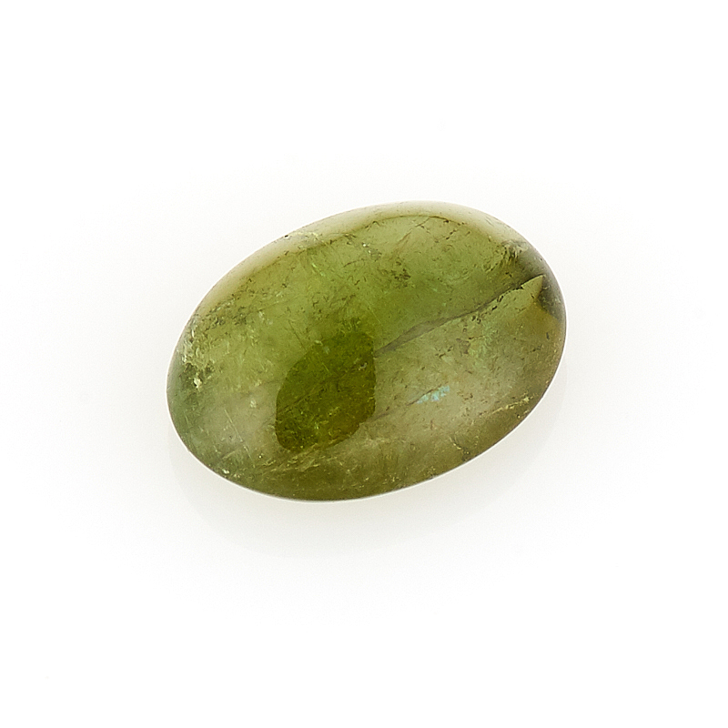Кабошон турмалин зеленый (верделит) 6*8 мм кабошон турмалин зеленый верделит 8 мм