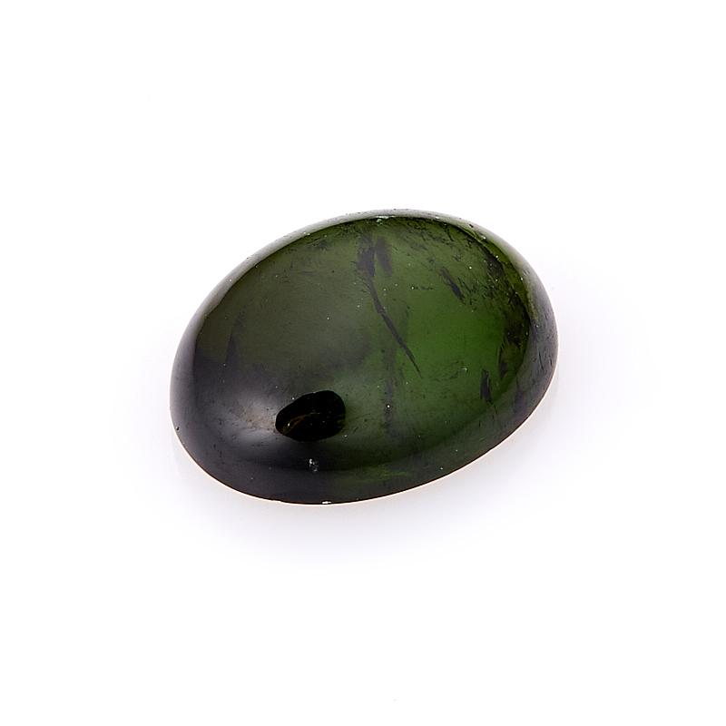 Кабошон турмалин зеленый (верделит) 8*10 мм кабошон фосфосидерит 18 мм