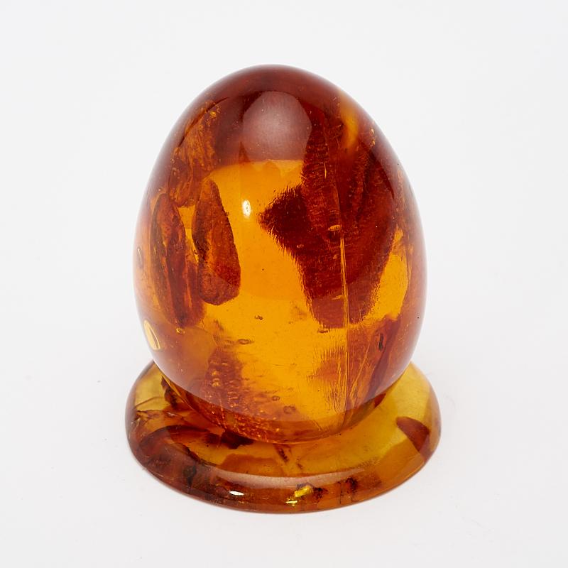 Яйцо на подставке янтарь пресс 5 см яйцо москва на подставке 2