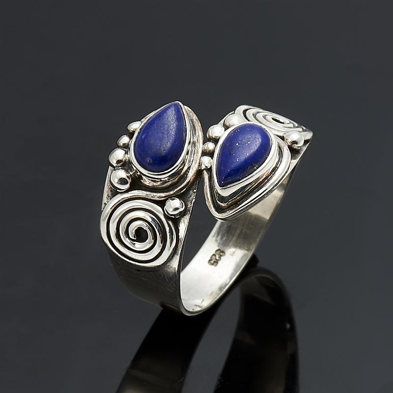 Кольцо лазурит (серебро 925 пр.) размер 19 кольцо амазонит серебро 925 пр размер 19