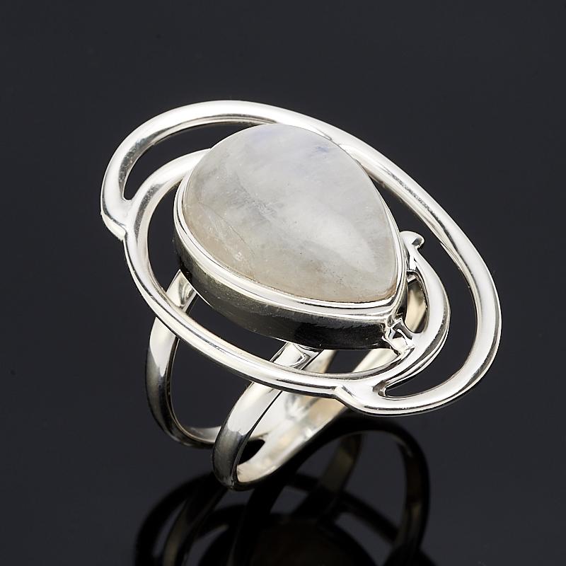 Кольцо лунный камень  (серебро 925 пр.) размер 19,5