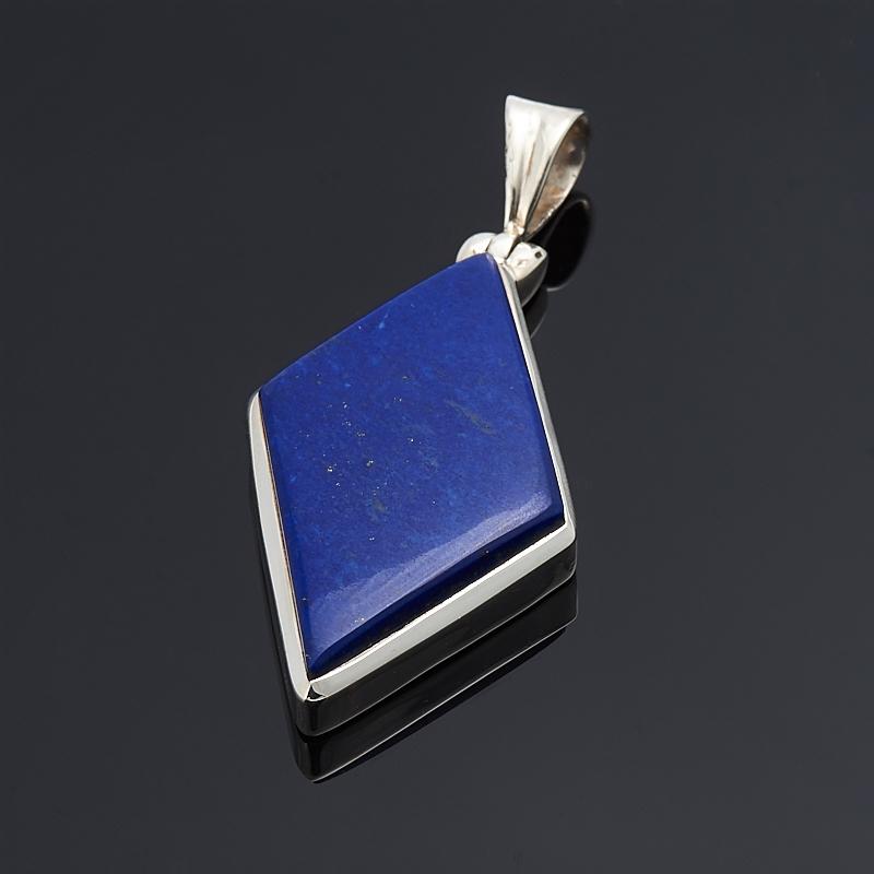 Кулон лазурит  (серебро 925 пр.)