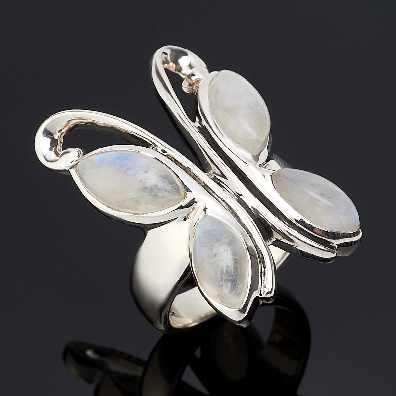 Кольцо лунный камень (серебро 925 пр.) размер 17 ar535 925 чистое серебро кольцо 925 серебро ювелирные изделия кокосовый орех вал инкрустированные красный камень bdbajuia dsyamkfa