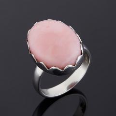 Кольцо опал розовый Перу (серебро 925 пр.) размер 19