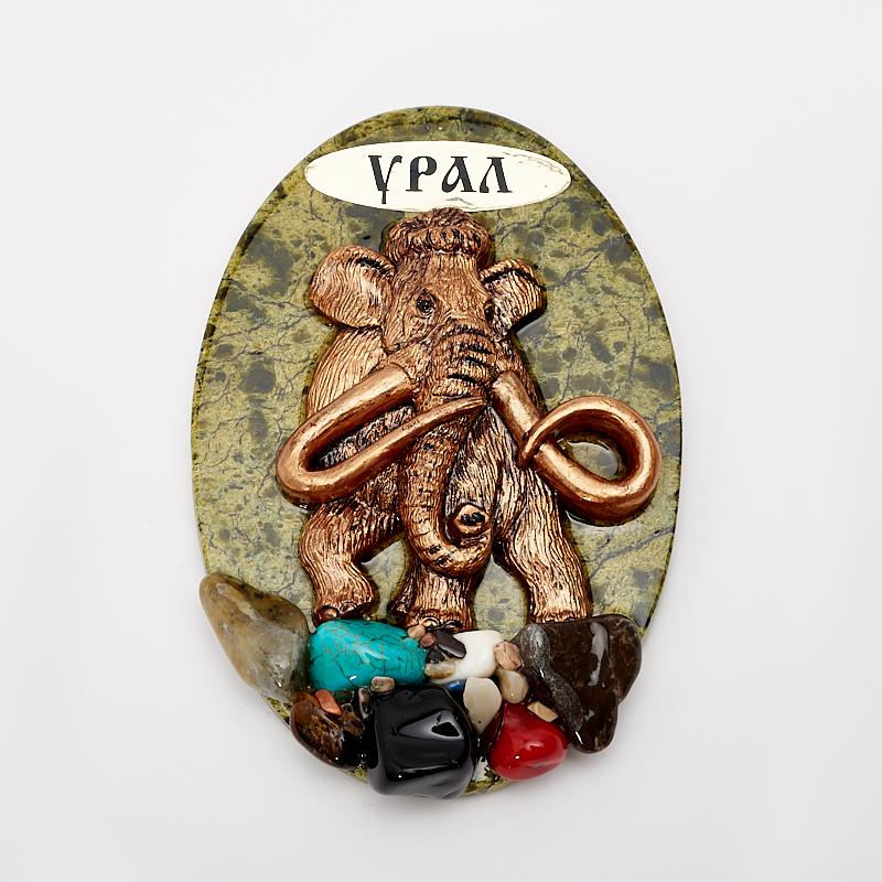 Магнит змеевик Урал 9,5 см свитшот print bar урал