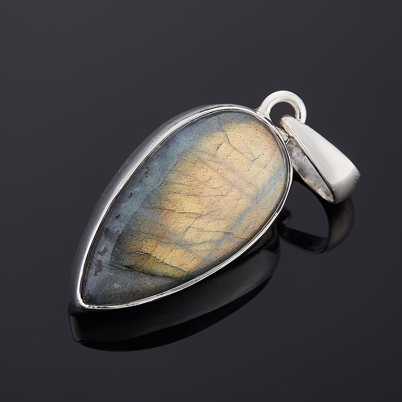 Кулон лабрадор  (серебро 925 пр.)