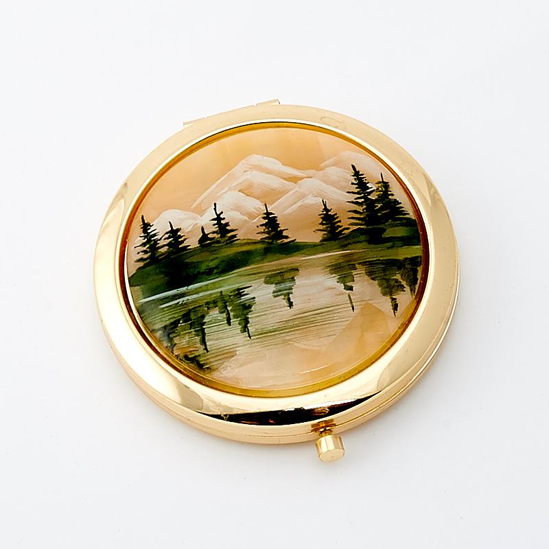 Зеркало селенит 7 см зеркало art east ww 54 7 5 см