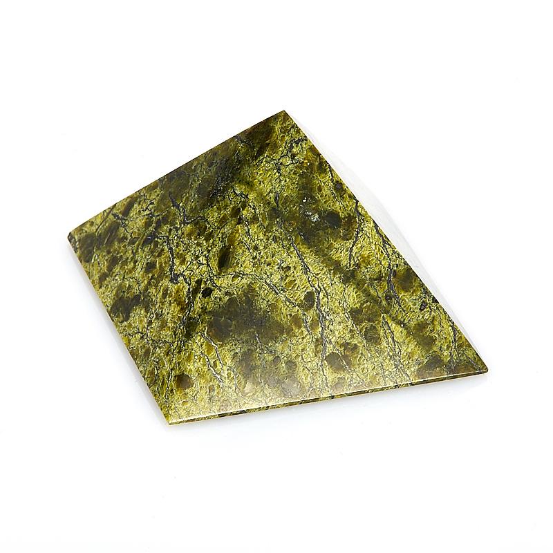 Пирамида змеевик 5 см браслет джессика змеевик кахолонг