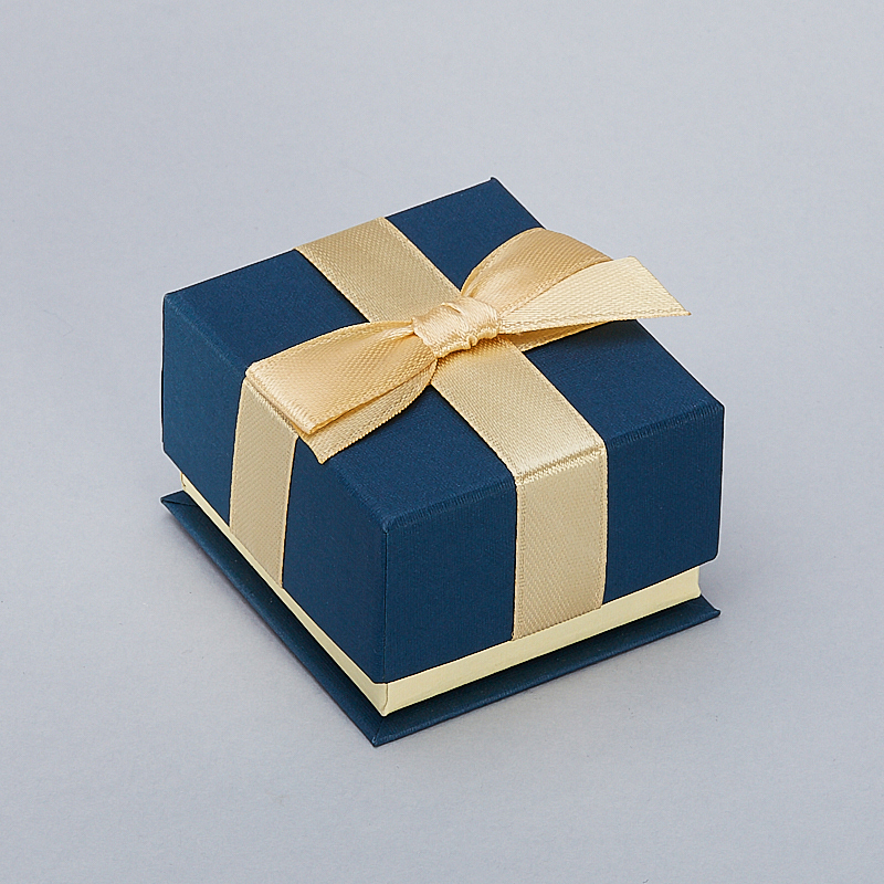 Подарочная упаковка под кольцо/серьги 50х50х35 мм