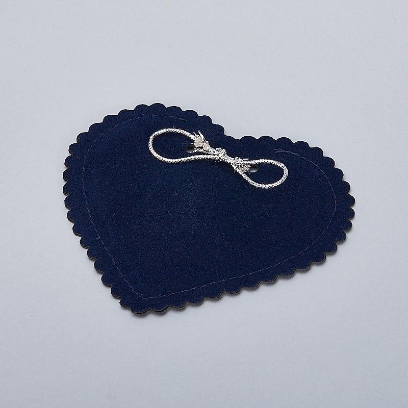Подарочная упаковка универсальная (мешочек плоский синий) 90х85 мм