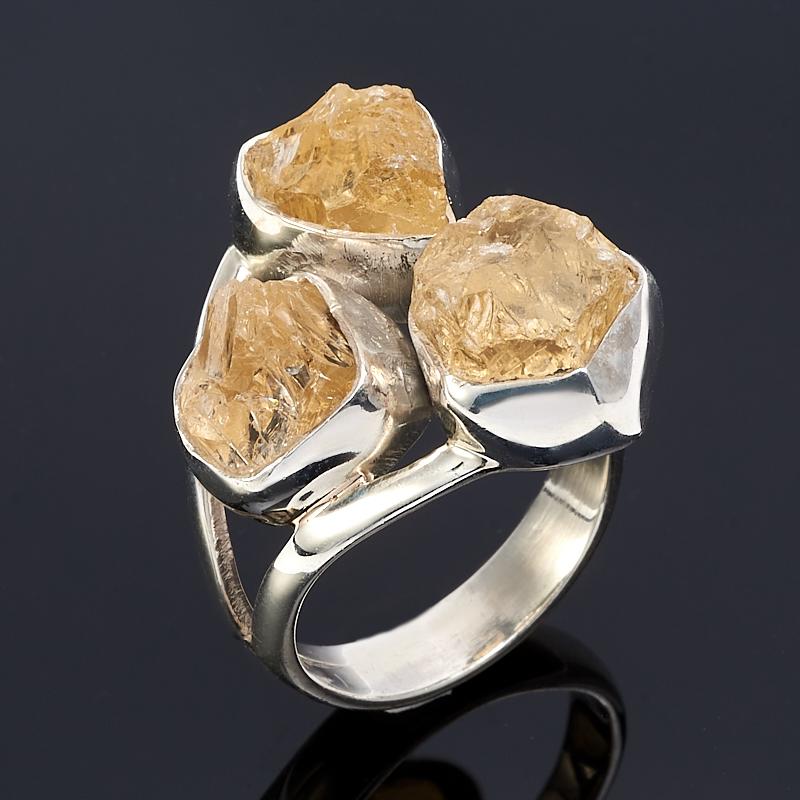 Кольцо цитрин (серебро 925 пр.) размер 17,5 кольцо цитрин серебро 925 пр золото 585 пр размер 19 5