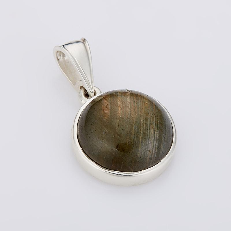 Кулон лабрадор круг (серебро 925 пр.) кулон лабрадор овал серебро 925 пр