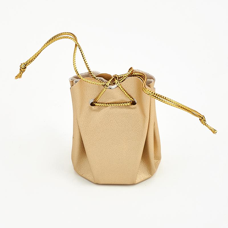 Подарочная упаковка универсальная (мешочек объемный золотой) 40х40х60 мм подарочная упаковка универсальная мешочек объемный коралловый 40х40х60 мм