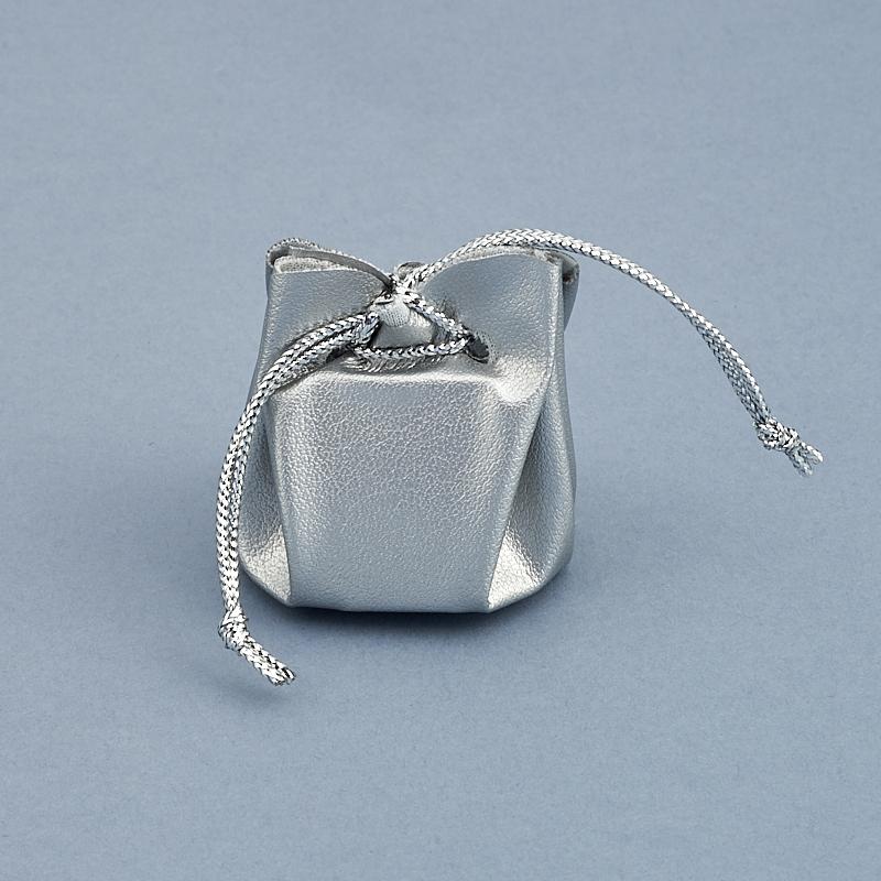 Подарочная упаковка универсальная (мешочек объемный серебряный) 35х35х40 мм chkj серебряный 42 мм