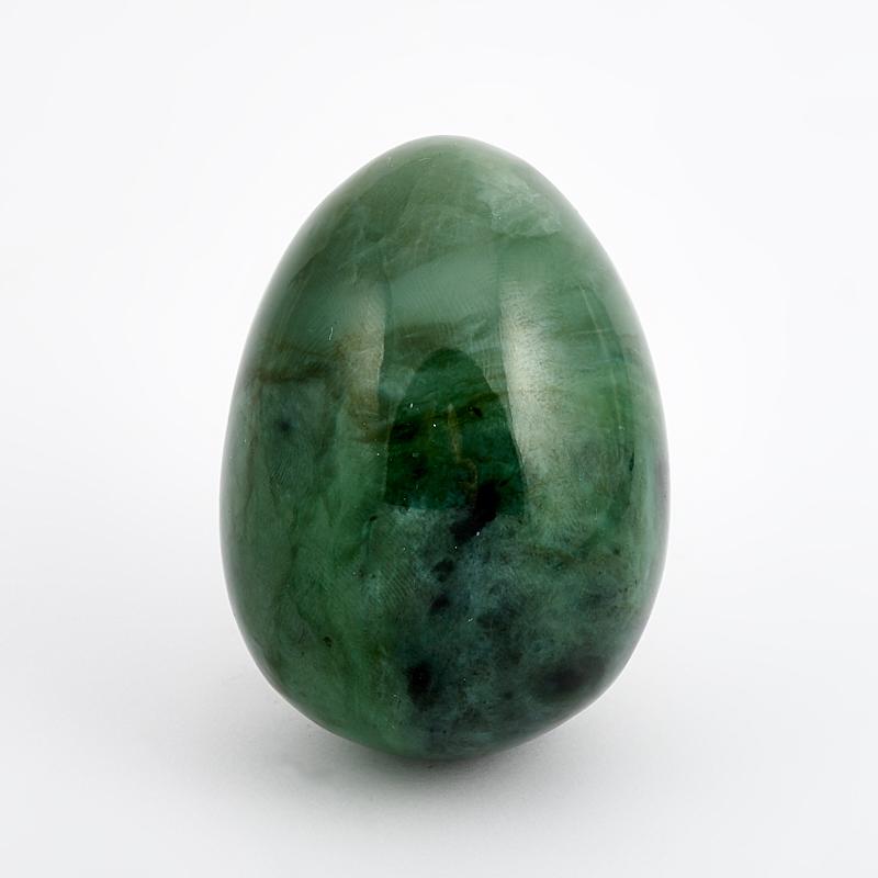 Яйцо нефрит зеленый  6 см