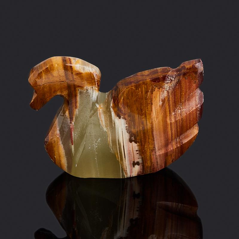 Лебедь оникс мраморный Пакистан 5,5 см