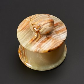 Шкатулка оникс мраморный Пакистан 5х5 см