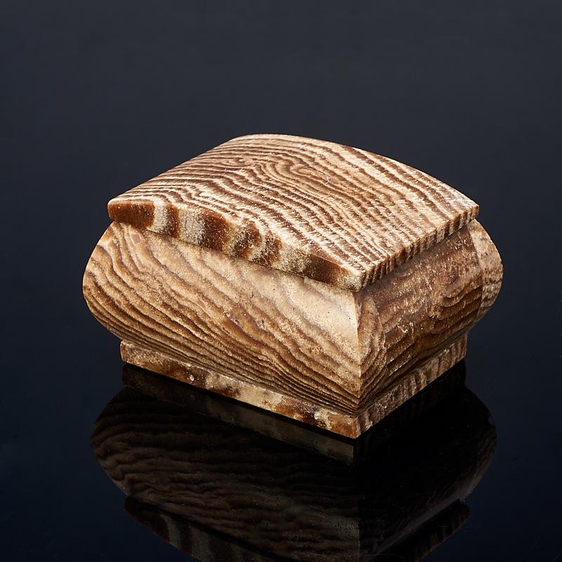 Шкатулка оникс мраморный 8,5х6,5х5 см