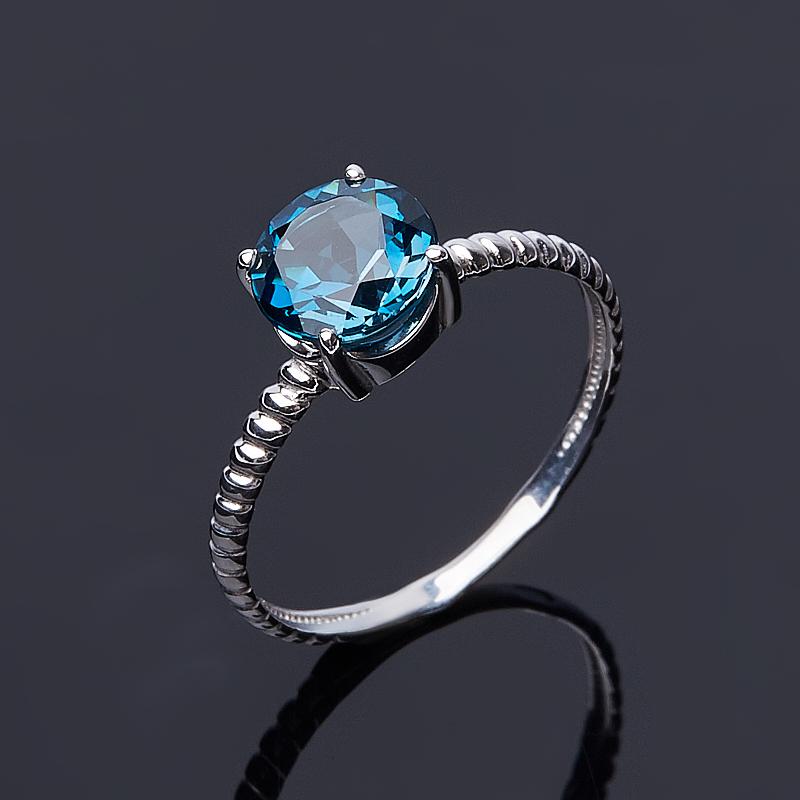 Кольцо топаз лондон огранка (серебро 925 пр.) размер 17 кольцо коюз топаз кольцо т102017974 лл