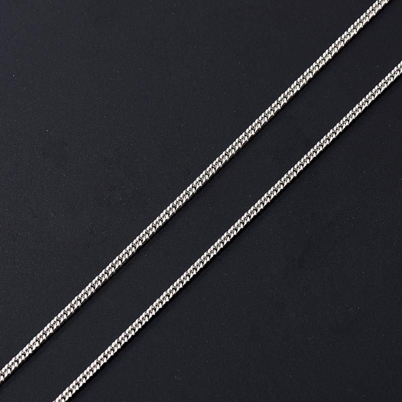 Цепь полновесная панцирь 45 см (серебро 925 пр.)