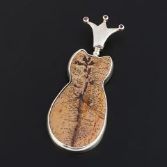 Кулон агат Танзания (серебро 925 пр.)