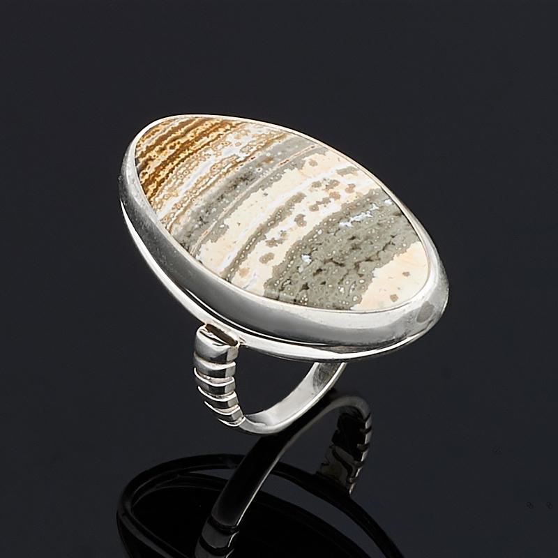 Кольцо агат (серебро 925 пр.) размер 17,5