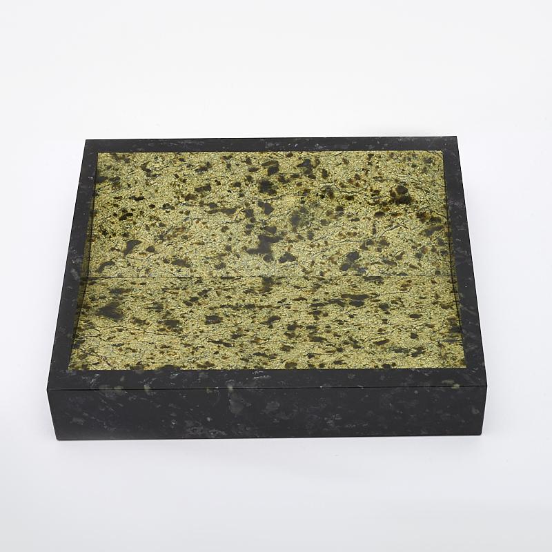 Монетница змеевик 15,5х14 см браслет джессика змеевик кахолонг