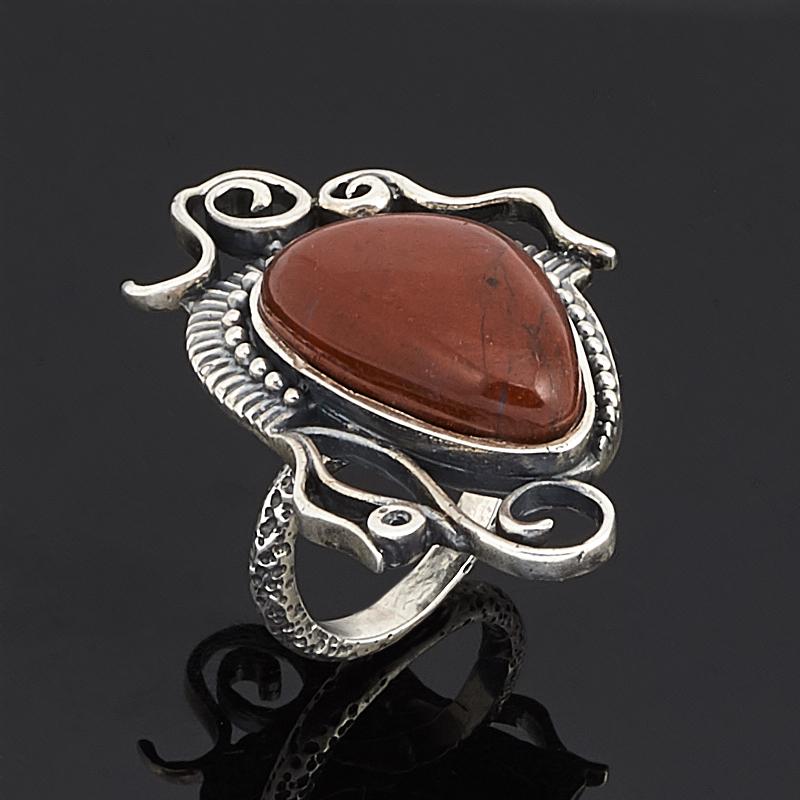 Кольцо яшма брекчиевая (серебро 925 пр.) размер 17 браслет яшма 17 см серебро 925 пр