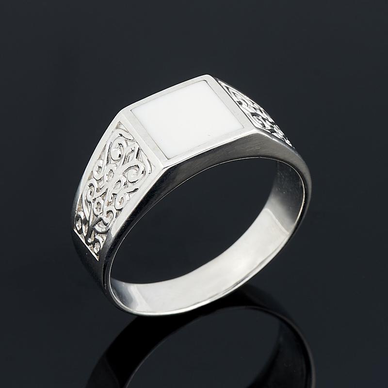 Кольцо кахолонг (серебро 925 пр.) размер 20,5