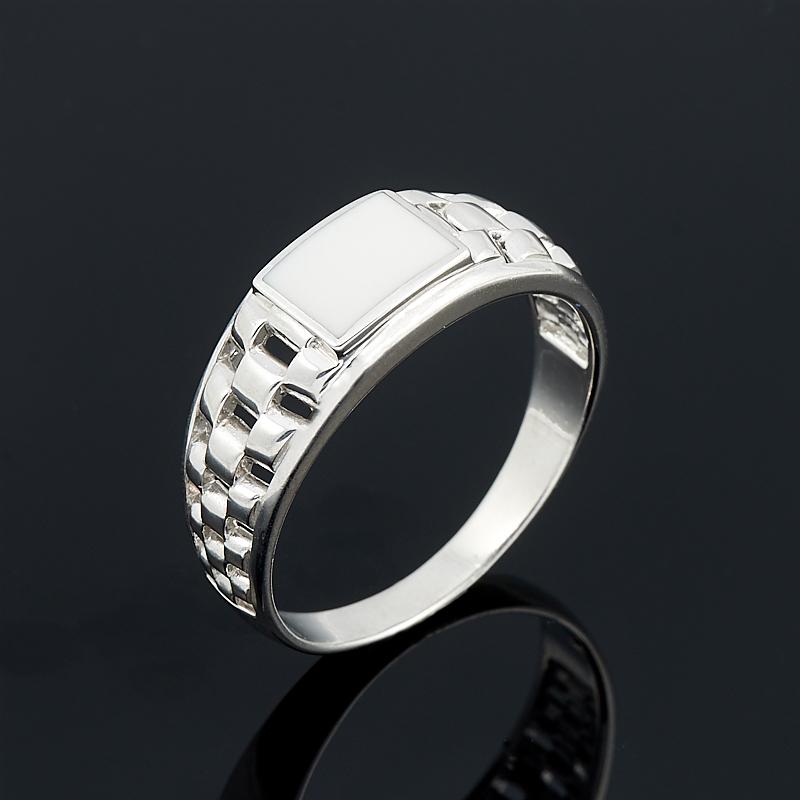 Кольцо кахолонг (серебро 925 пр.) размер 22 браслет миранда кахолонг