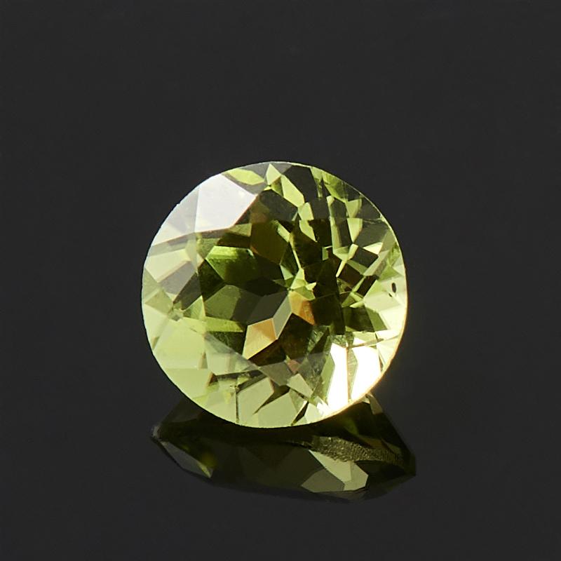 Огранка хризолит круглая (1 шт) 4 мм