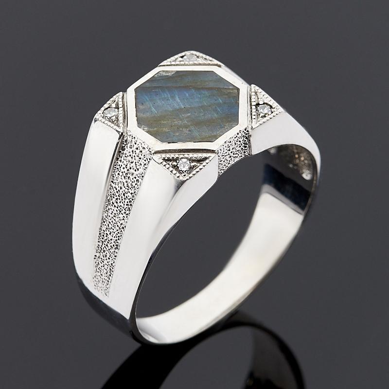 Кольцо лабрадор (серебро 925 пр.) размер 23