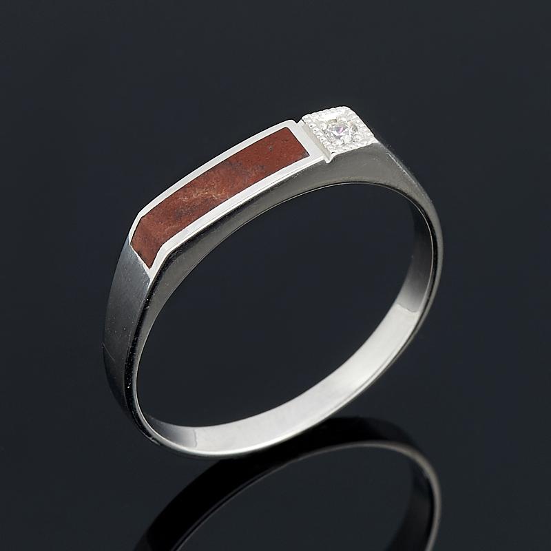 Кольцо яшма (серебро 925 пр.) размер 19,5 браслет яшма 17 см серебро 925 пр