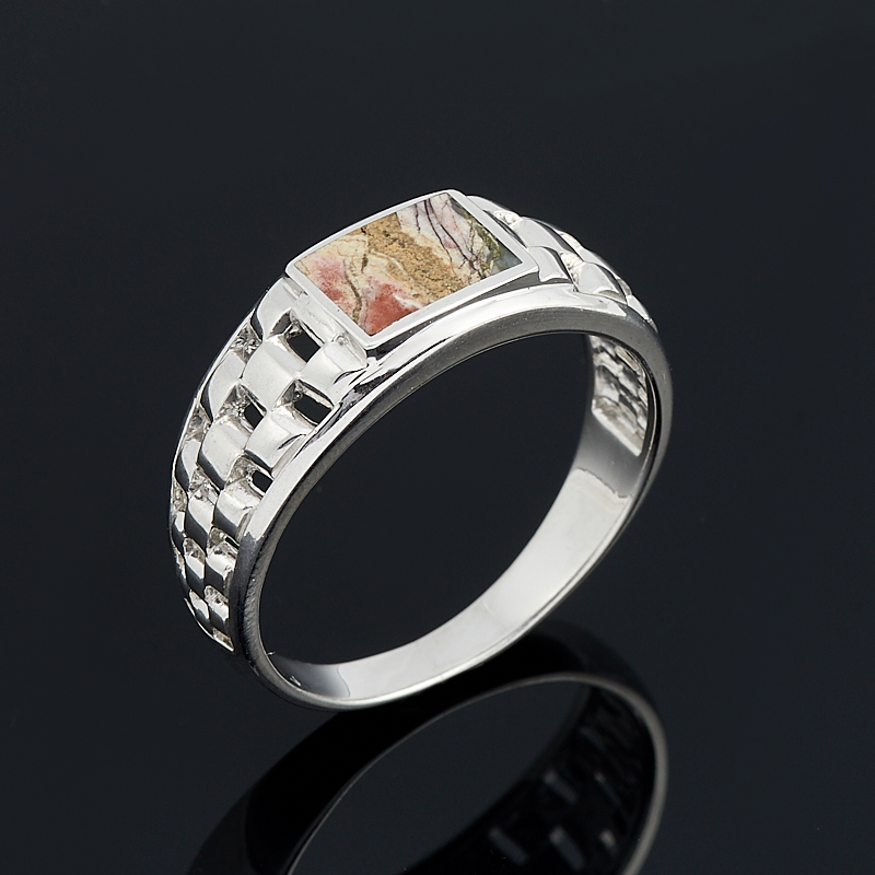 Кольцо яшма (серебро 925 пр.) размер 21 кольцо yueyin r161 925