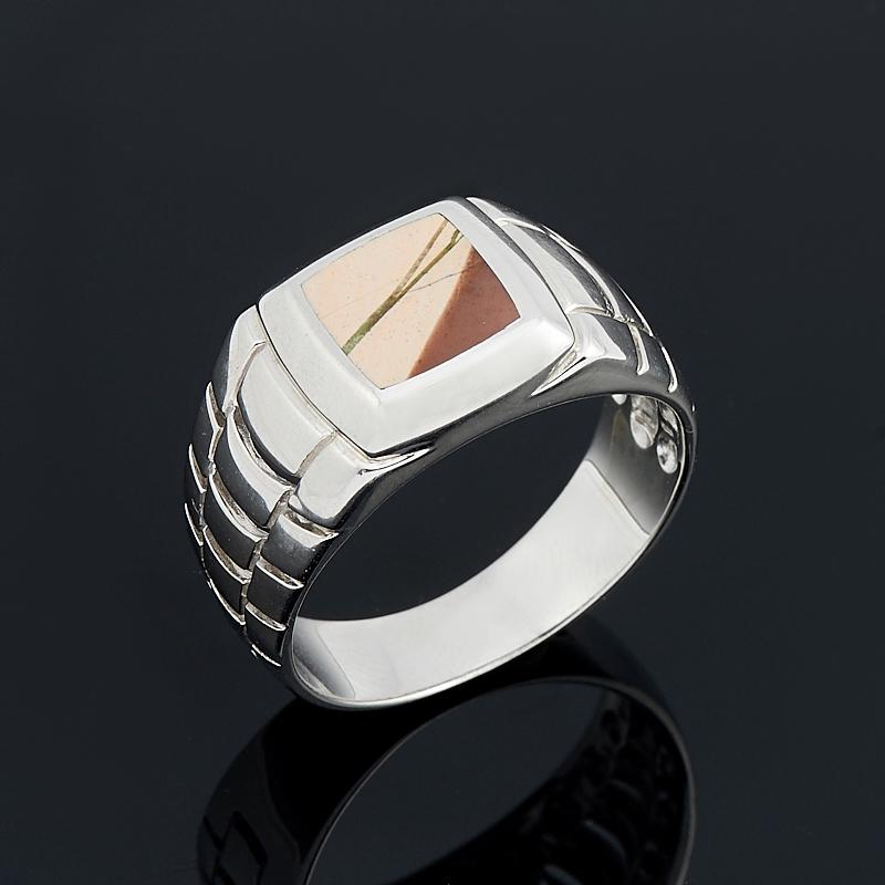 Кольцо яшма (серебро 925 пр.) размер 20 цены