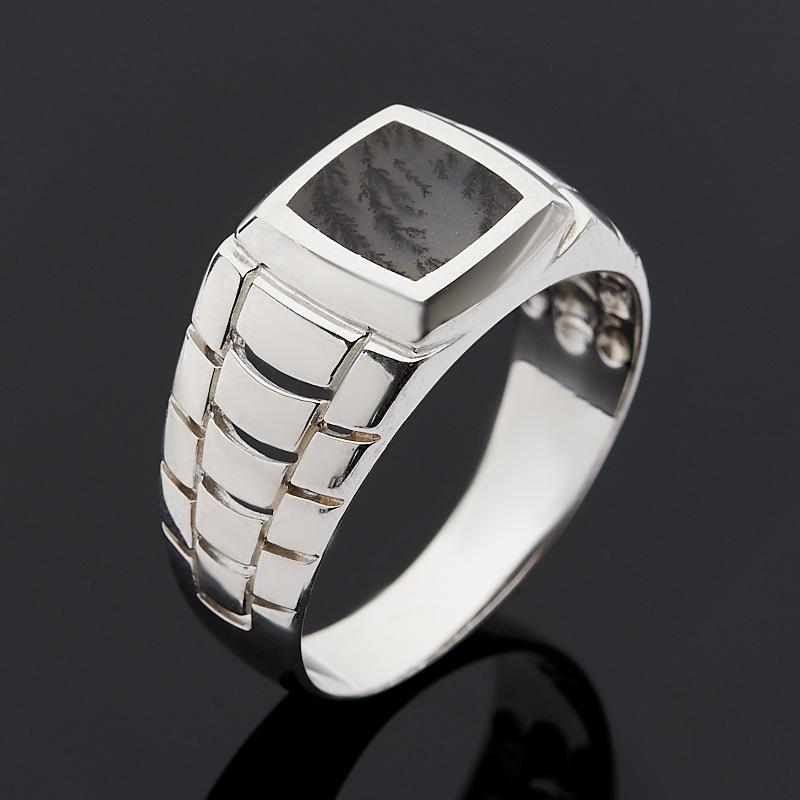 Кольцо агат пейзажный (серебро 925 пр.) размер 22 цена