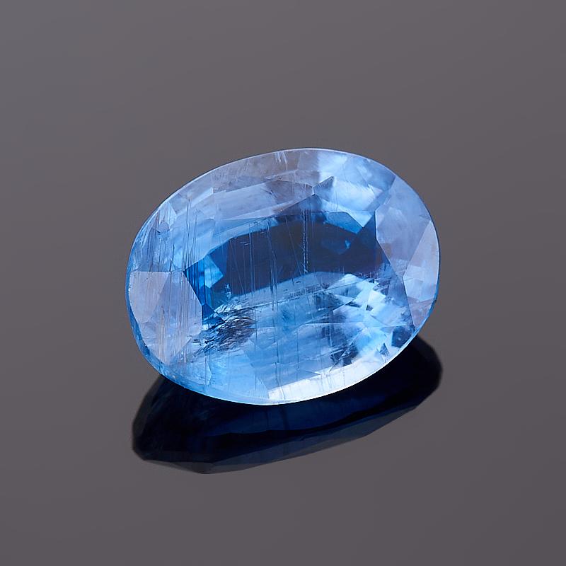 Огранка кианит синий овал 6*8 мм bestnull синий