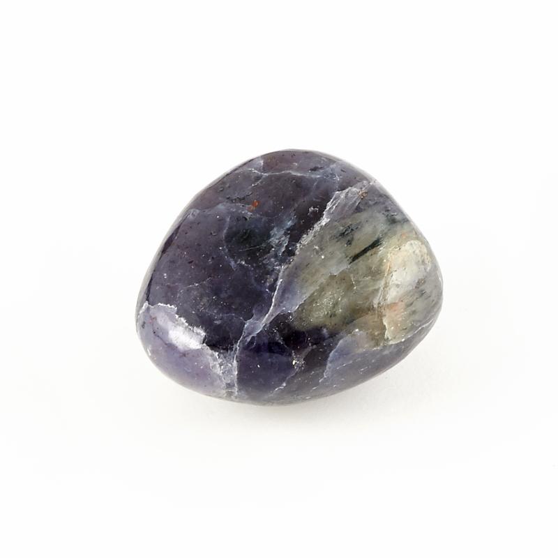 Галтовка Иолит (кордиерит) Индия (2,5-3 см) 1 шт