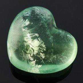 Сердечко флюорит зеленый 2,5 см