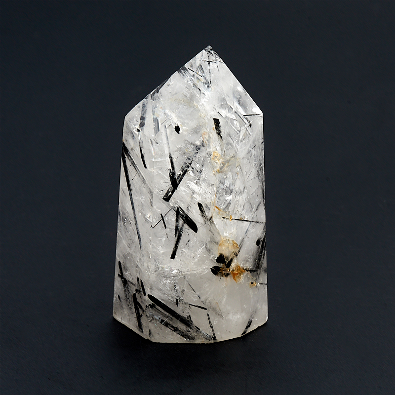 Кристалл кварц с турмалином (шерл) S