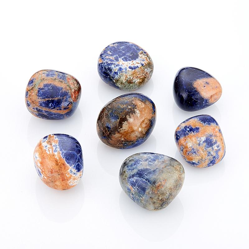 Содалит (2-2,5 см) 1 шт содалит брелок с натуральным камнем 5х10см