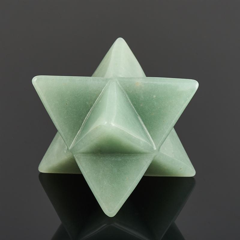 Меркаба авантюрин зеленый 4 см