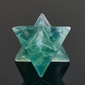 Меркаба флюорит зеленый 4 см