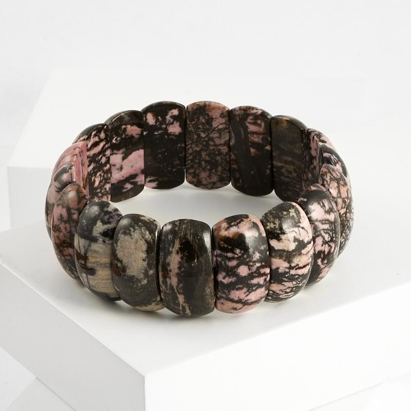 Браслет родонит 20 см u7 широкий браслет часов реального позолоченные моды мужчин украшения оптовой новой модной уникальный 1 5 см 20 см звено цепи браслеты