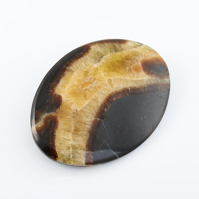 Брошь симбирцит (нейзильбер)