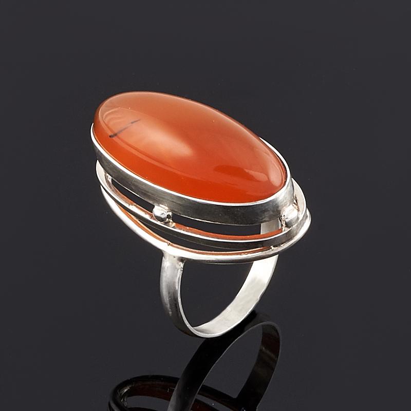 Кольцо сердолик (серебро 925 пр.) размер 19 кольцо oem 925 925 smtr133 ring