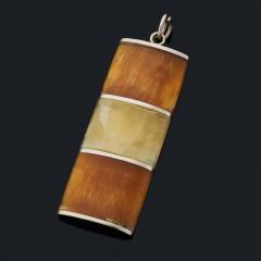 Кулон симбирцит Россия прямоугольник (нейзильбер) 6 см
