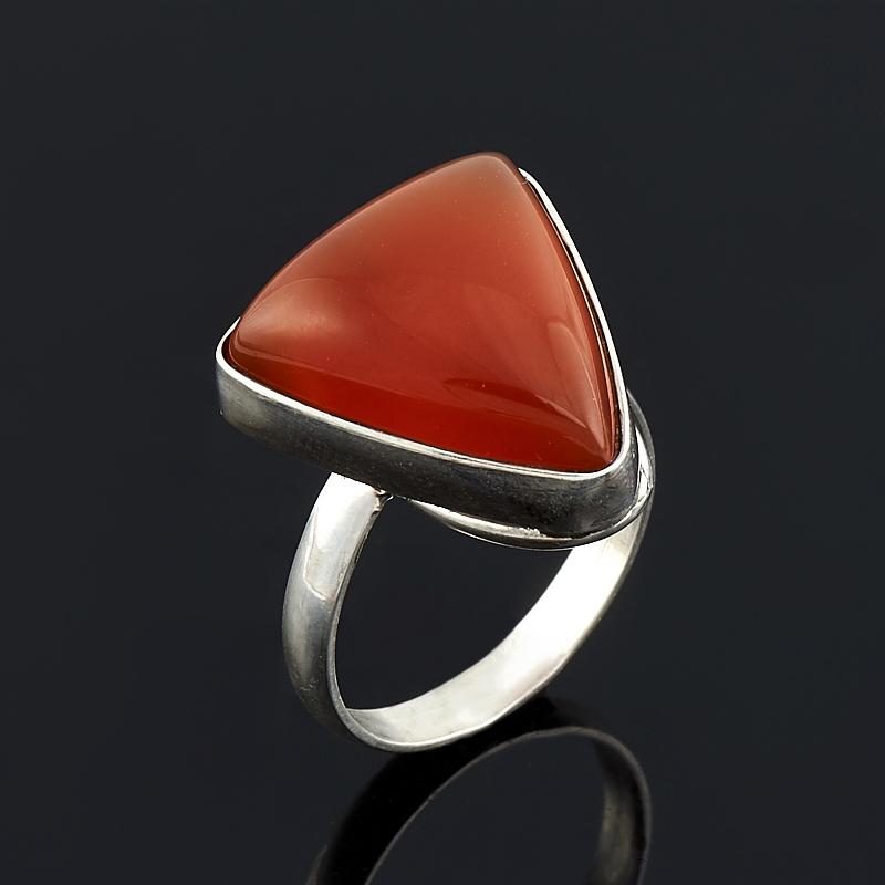 Кольцо сердолик (серебро 925 пр.) размер 18 кольцо oem 925 925 smtr133 ring